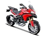 Ducati Multistrada 1200S in Red (1:12 scale) Diecast Model Motorbike
