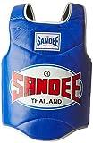 Sandee Leather Body Shield - Blue, Medium