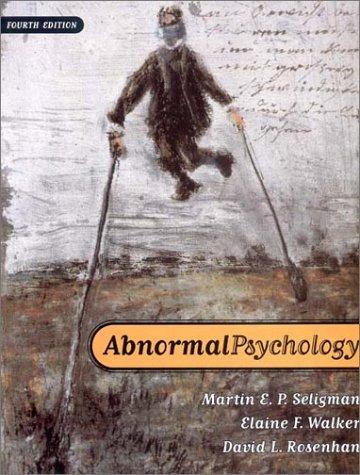 Abnormal Psychology, Fourth Edition W/CD