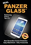 Panzer Glass Protective Anti Scratch Fluid Resistant Glass Screen Protector Shield for Samsung Galaxy Tab 3.7Inch