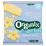 Organix Finger Foods Cheese Stars 20 g (Pack of 8)