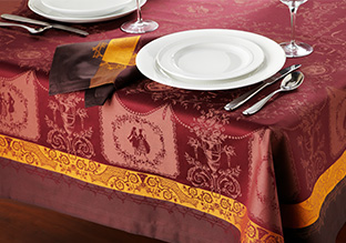garnier thiebaut table linens stylish daily. Black Bedroom Furniture Sets. Home Design Ideas