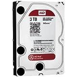Western Digital WD30EFRX - Disco duro SATA lll para almacenamiento conectado a la red 24x7, color rojo, 3 TB