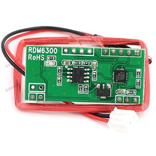 Wiegand Arduino RFID Reader - YouTube