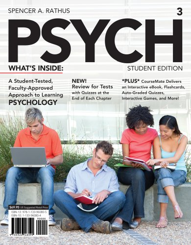 PSYCH (with CourseMate Printed Access Card) (Engaging 4ltr Press Titles in Psychology)