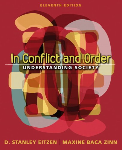 In Conflict and Order: Understanding Society (11th Edition) (MySocKit Series)