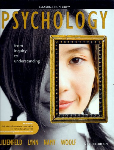 Psychology from inquiry to understanding (Examination Copy)
