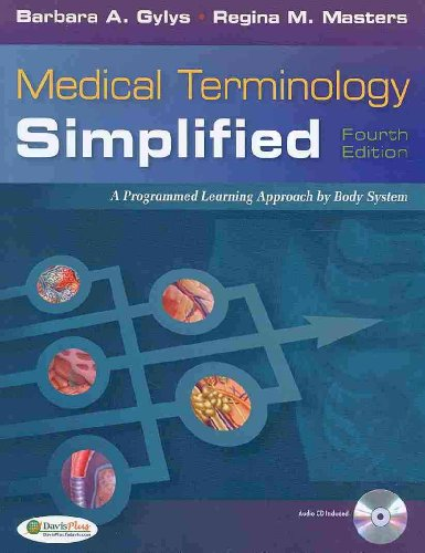 Medical Terminology Simplified: A Programmed Learning Approach by Body Systems (Text & Audio CD)