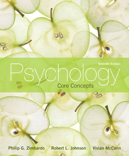 Psychology: Core Concepts (7th Edition)