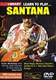Lick Library: Learn To Play Santana. Pour Guitare