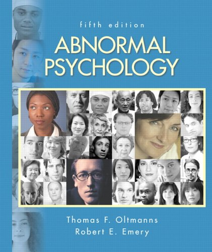 Abnormal Psychology (5th Edition)