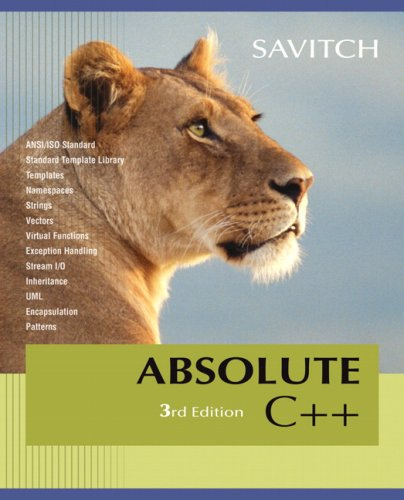 Absolute C++ Value Package (includes MyCodemate Student Access Kit)