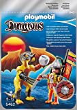 Playmobil 5462 - Drago Roccia con Guerriero