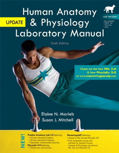 Human Anatomy & Physiology Laboratory Manual, Cat Version, Update ...