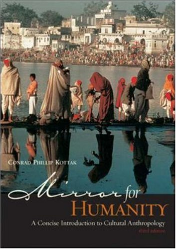 Mirror for Humanity: A Concise Introduction to Cultural Anthropology, with Free PowerWeb