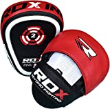 Authentic RDX Curved Focus Pads Mitts,Hook and Jab,Punch Bag Kick Boxing Muay Thai MMA UFC