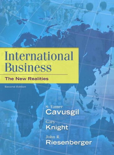 International Business: The New Realities (2nd Edition)