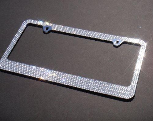 Bow license plate frame