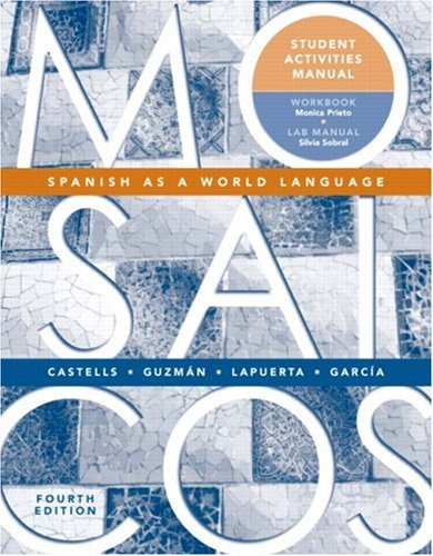 Mosaicos: Spanish as a World Language (Student Activities Manual)