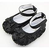 HuntGold - Zapatos primeros pasos para niña negro negro one size