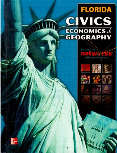 CIVICS Economics & Geography (Florida), Author: Mc Graw Hill