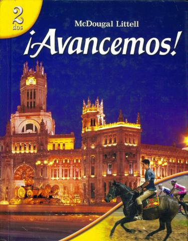 Avancemos Level 2 Spanish Edition Author McDougal