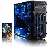 Vibox Extreme 5 PC da Gaming, Processore AMD FX 4350 Quad Core, RAM 32GB, HDD da 2TB, Scheda Grafica Nvidia GeForce GTX 960 da 2GB, Blu