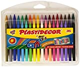 Bic 882337 - Pack of 36 Wax Crayons