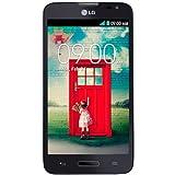 """LG L70 - Smartphone libre Android (pantalla 4.5"""", cámara 5 Mp, 4 GB, Dual-Core 1.2 GHz, 1 GB RAM), negro"""