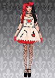 Cutie bambola Voodoo di Ladies Halloween Costume L (UK 12-14)