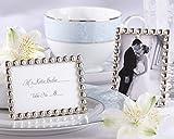 Kate Aspen Silver Pearls, Mini Photo Frame