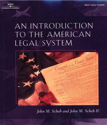 Introduction to the American Legal System (The West Legal Studies Series)