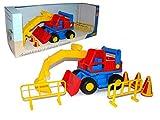 Wader Construck Excavator Toy