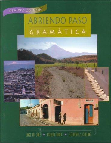 Abriendo Paso: Gramatica