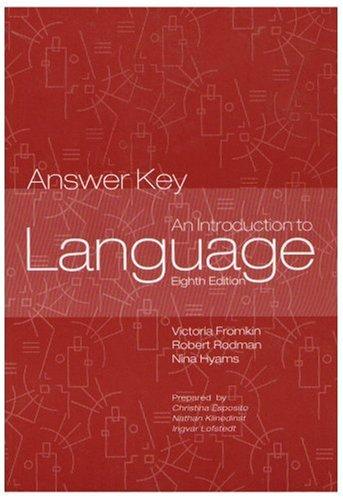 Introduction to language answer key author victoria a fromkin introduction to language answer key fandeluxe Choice Image