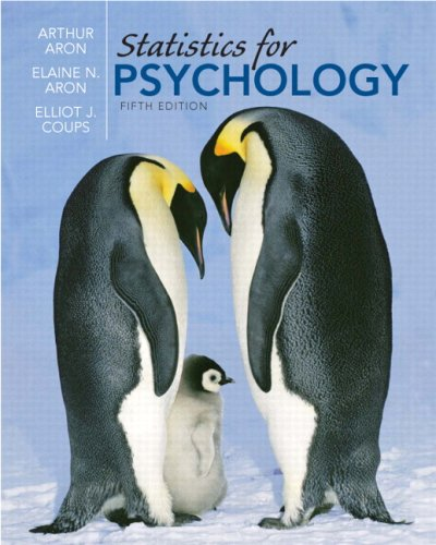 Statistics for Psychology (5th Edition)