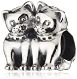 Pandora Cats 791119 Silver Charm