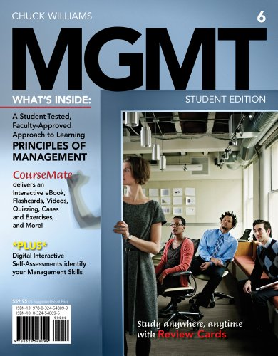 MGMT6 (with Career Transitions Printed Access Card) (Engaging 4ltr Press Titles for Management)