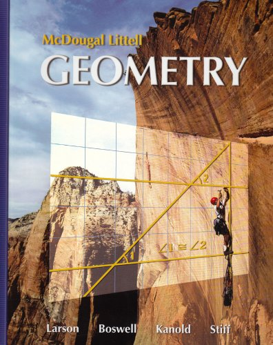Geometry, Grades 9-12: Mcdougal Littell High School Math