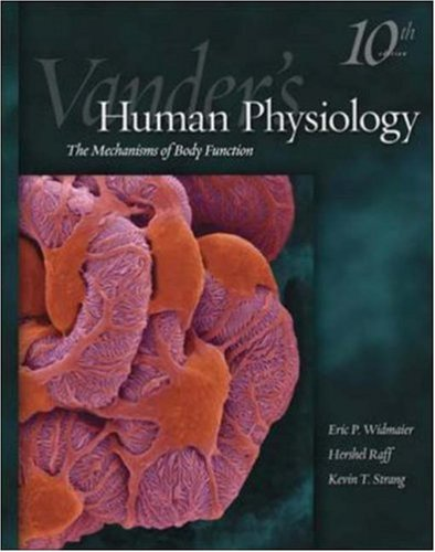 Vander S Human Physiology Human Physiology Vander Author Eric