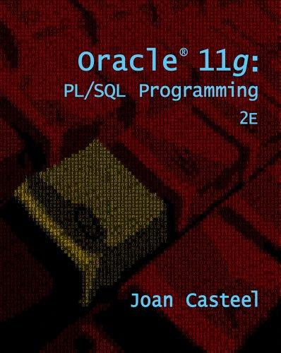 Oracle 11g: PL/SQL Programming