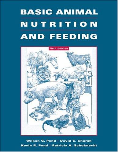 Basic Animal Nutrition and Feeding