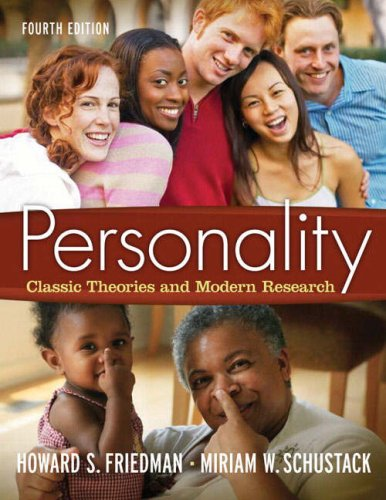 Personality: Classic Theories and Modern Research (4th Edition)