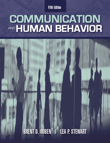 Communication and Human Behavior (5th Edition)