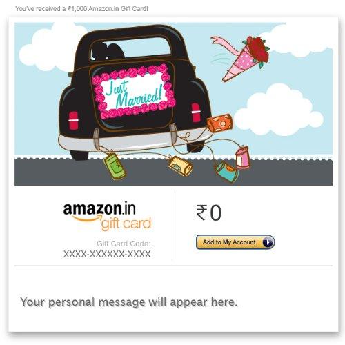 Amazon Wedding Gift Ideas: Gift Cards & Vouchers Online : Buy Gift Vouchers & E Gift