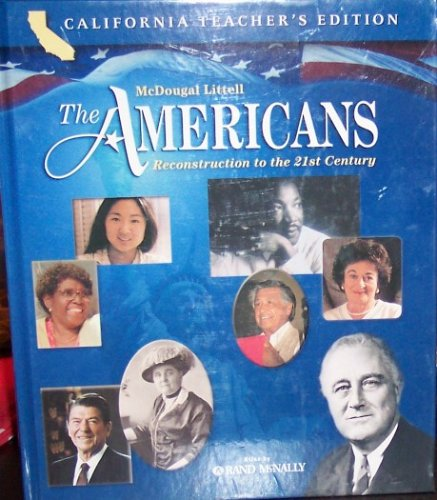 McDougal Littell The Americans: Reconstruction to the 21st