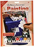 Royal & Langnickel 11 x 15 inch Mailbox Kittens Pre-Printed Paint by Number Painting Set