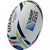 Gilbert Official RWC 2015 Replica Ball - White, Size 5