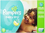 Pampers Baby Dry Diapers Size-5 Economy Pack Plus, 160-Count