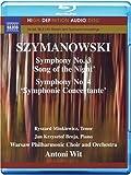 Szymanowski: Symphonies 3-4 (HD Audio) [Blu-ray] [2011] [Region Free]